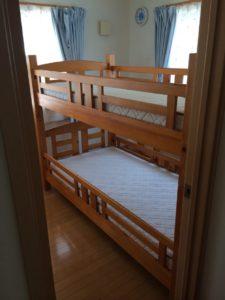 荒川区で二段ベッドの回収